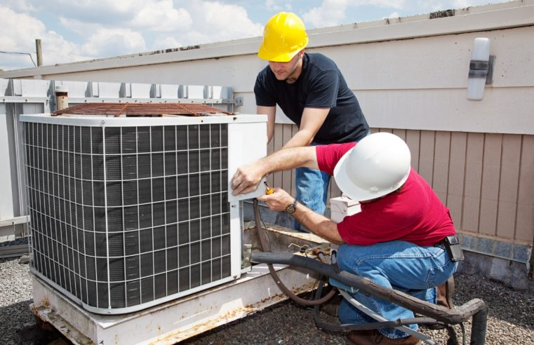 Air Conditioner Restore Winter Backyard FL Improves The Air Circulation