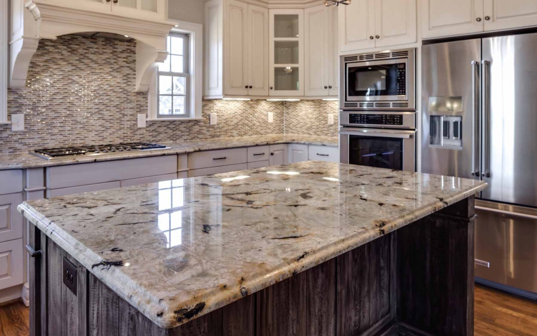 What makes white quartz suitable for making countertops?