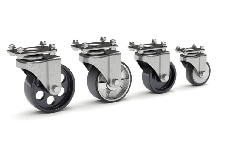Planning Your Use of Rigid and Swivel Casters