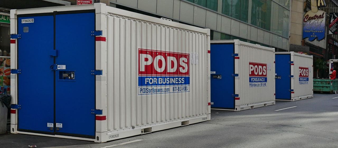 Why a Portable Storage Container Is a Much Better Service!