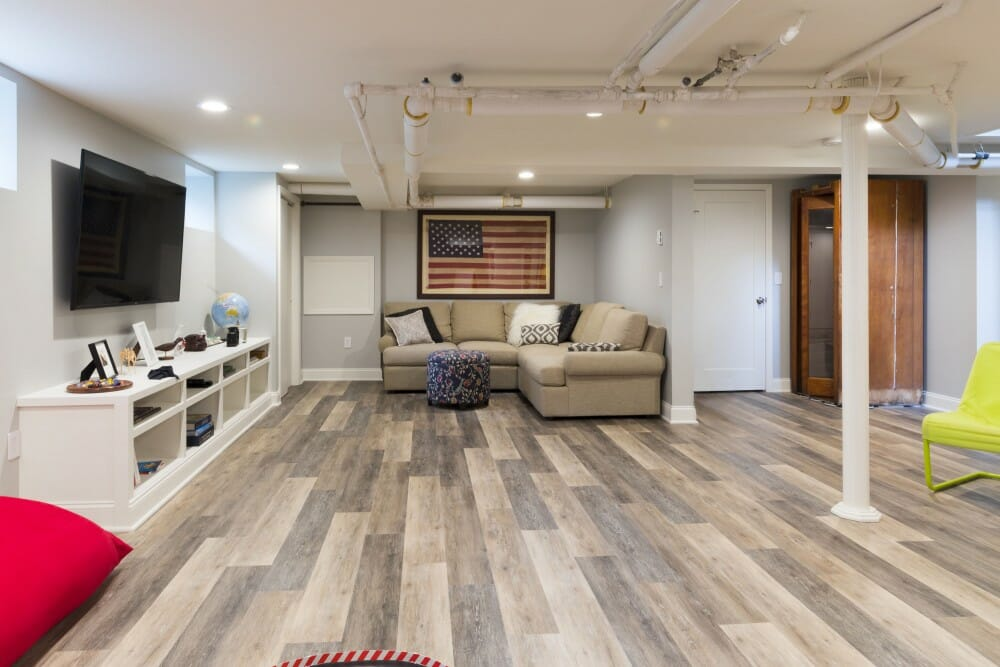 How to Turn Your Basement Into a Living Space on a Budget
