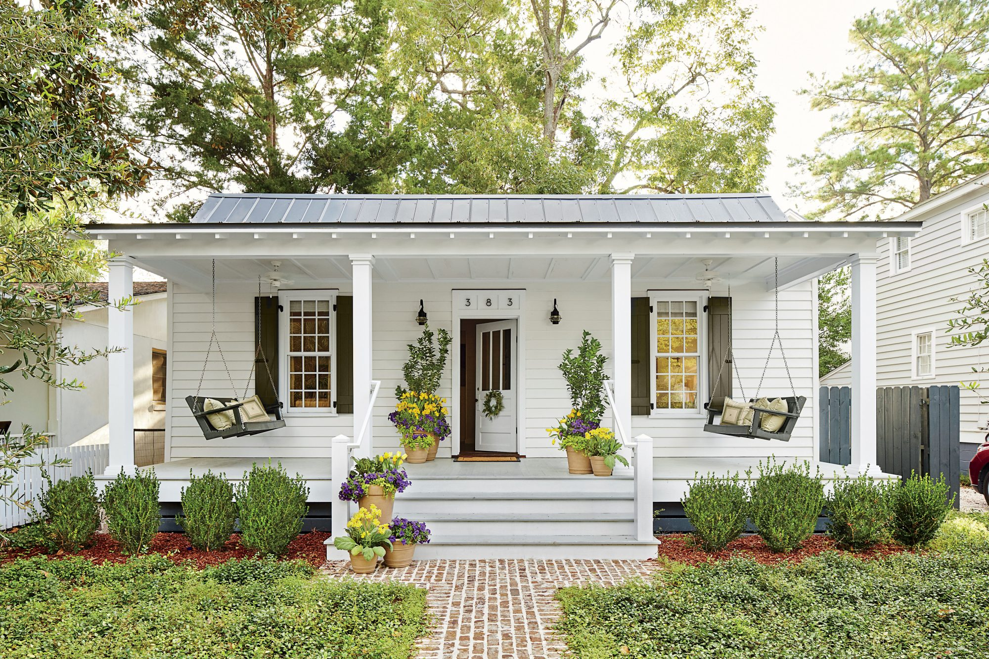 Upgrade Your Front Porch With These 4 Features