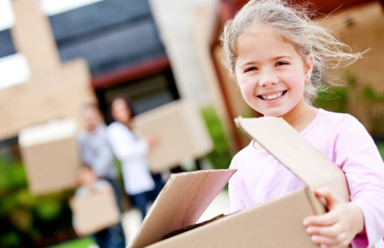 Useful tips for moving peacefully with kids