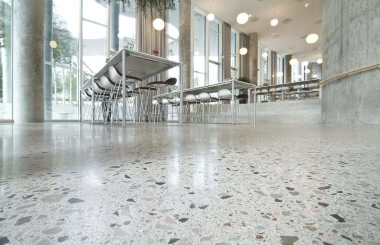 How can a polished concrete floor be helpful for you?